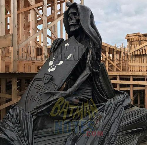 New Justice League Reshoot Set Photos Show More Of Gotham City