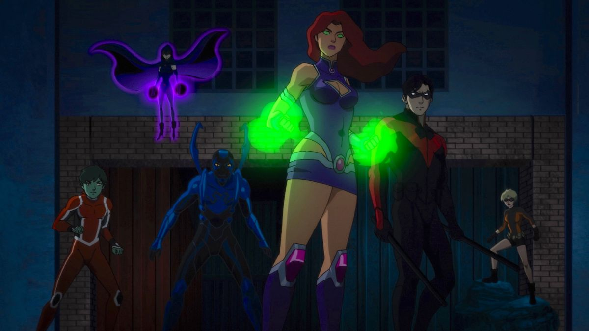 Teen Titans: The Judas Contract, Titans