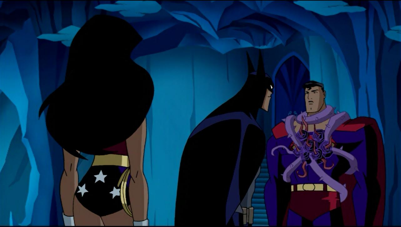 Justice League Unlimited- The Man Who Has Everything Episode Still