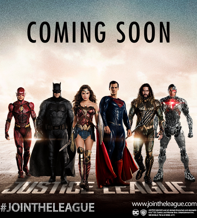 Justice League promo photo