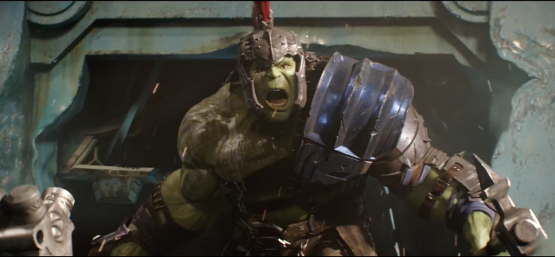 Thor Ragnarok The Hulk Props Display Reveal Armor And Very Own Bed Pursue News