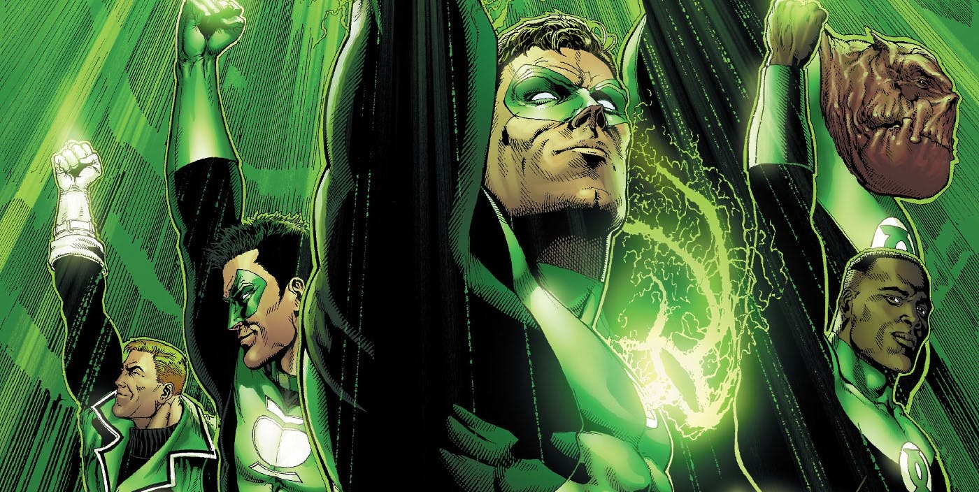 Green Lantern Corps Movie Eyes Mission: Impossible Director