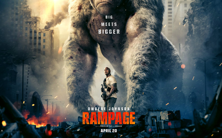 Rampage International Trailer Treates Japanese Fans With