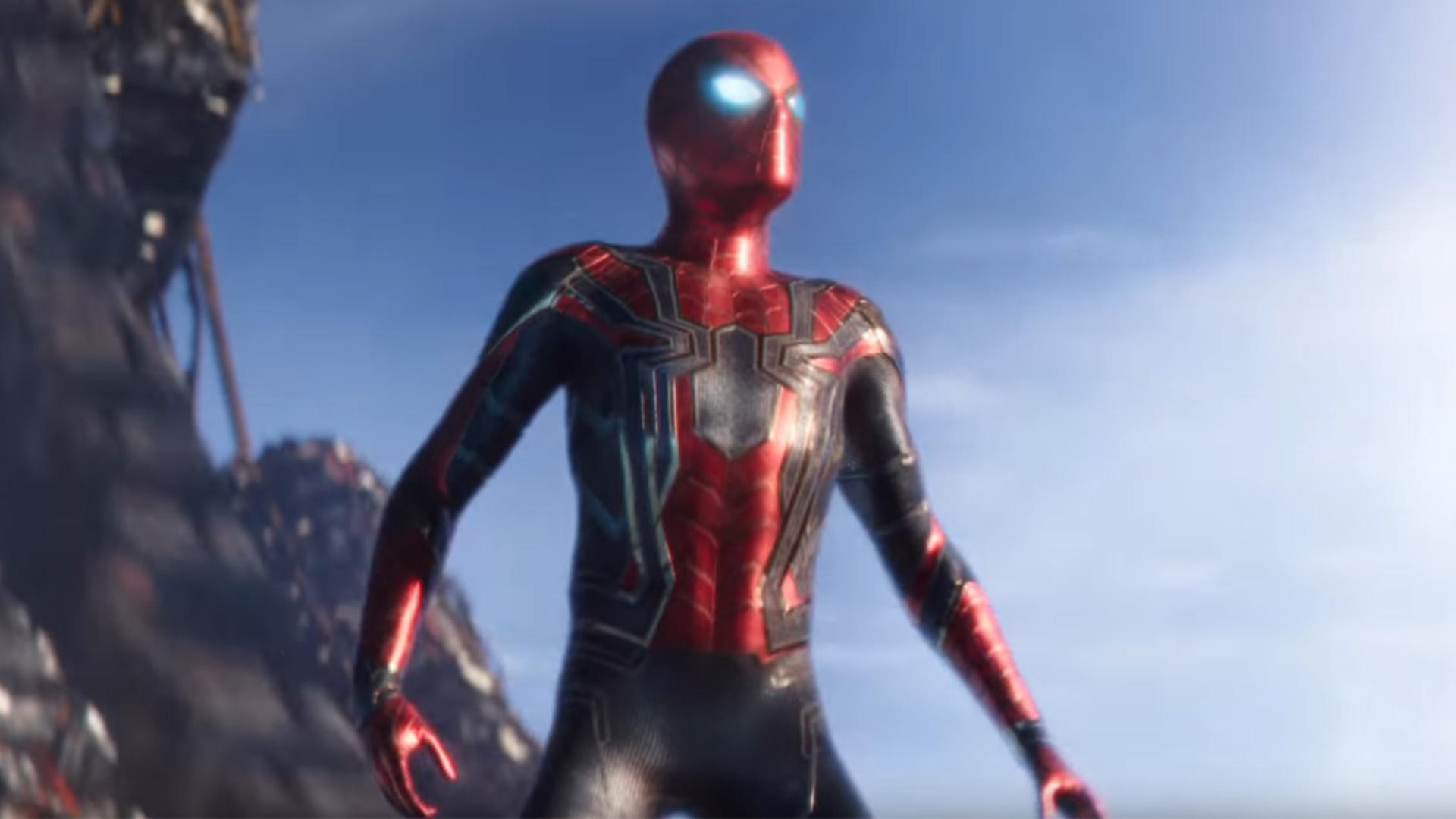 Image result for spiderman avengers infinity war