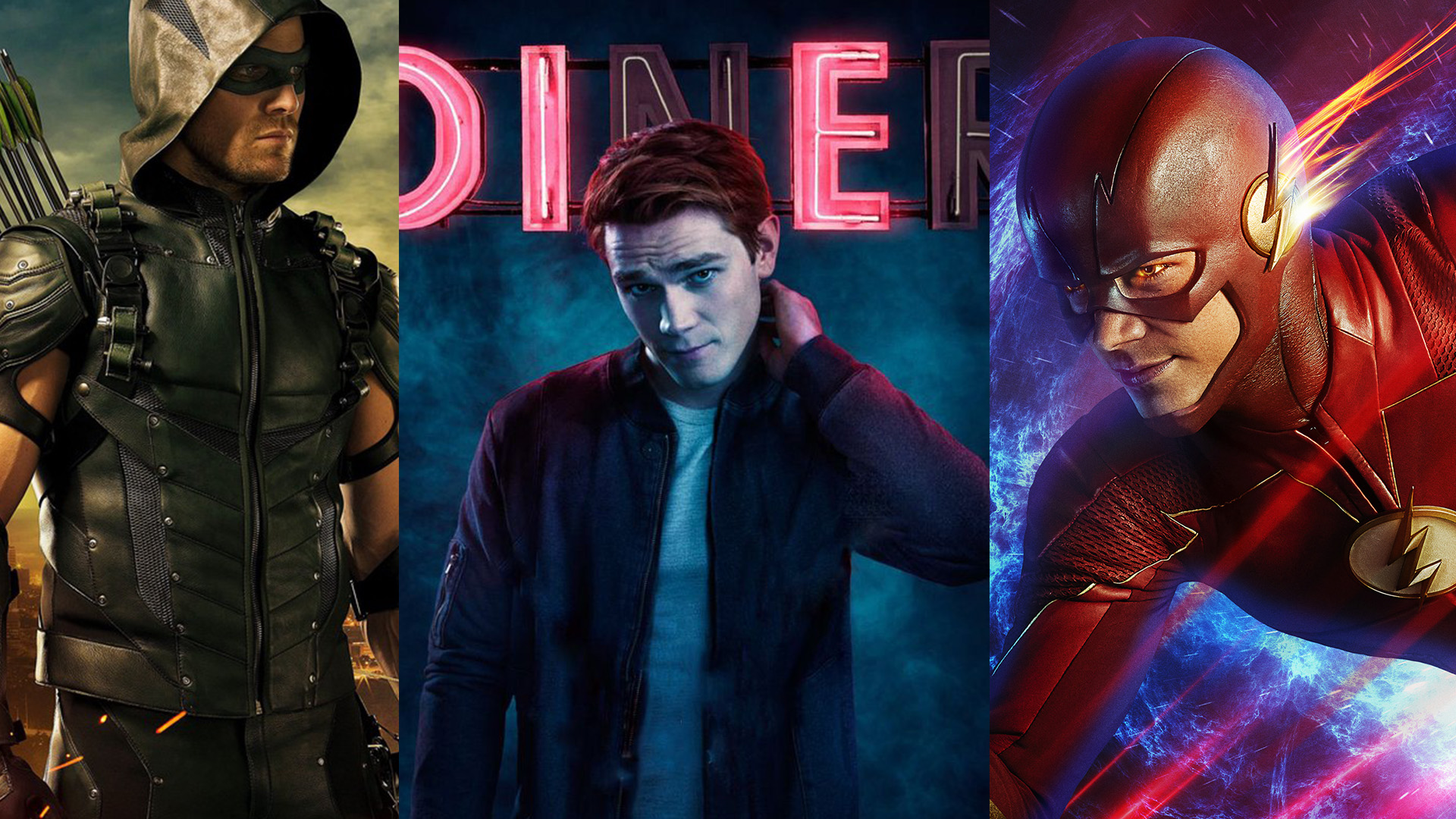 Arrow, The Flash, Riverdale