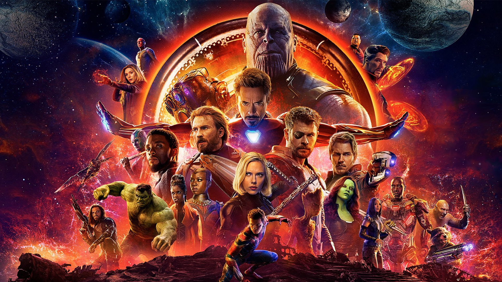Avengers Infinity War Posters Highlight 5 Teams Led By Iron Man