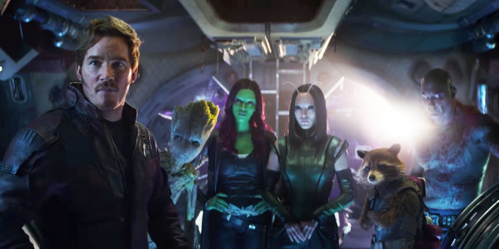 Avengers: Infinity War, Guardians of The Galaxy Vol. 3