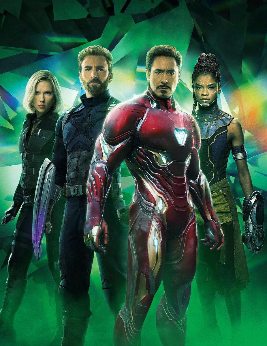 Avengers Infinity War Cap Iron Man Reunited In Empire Textless