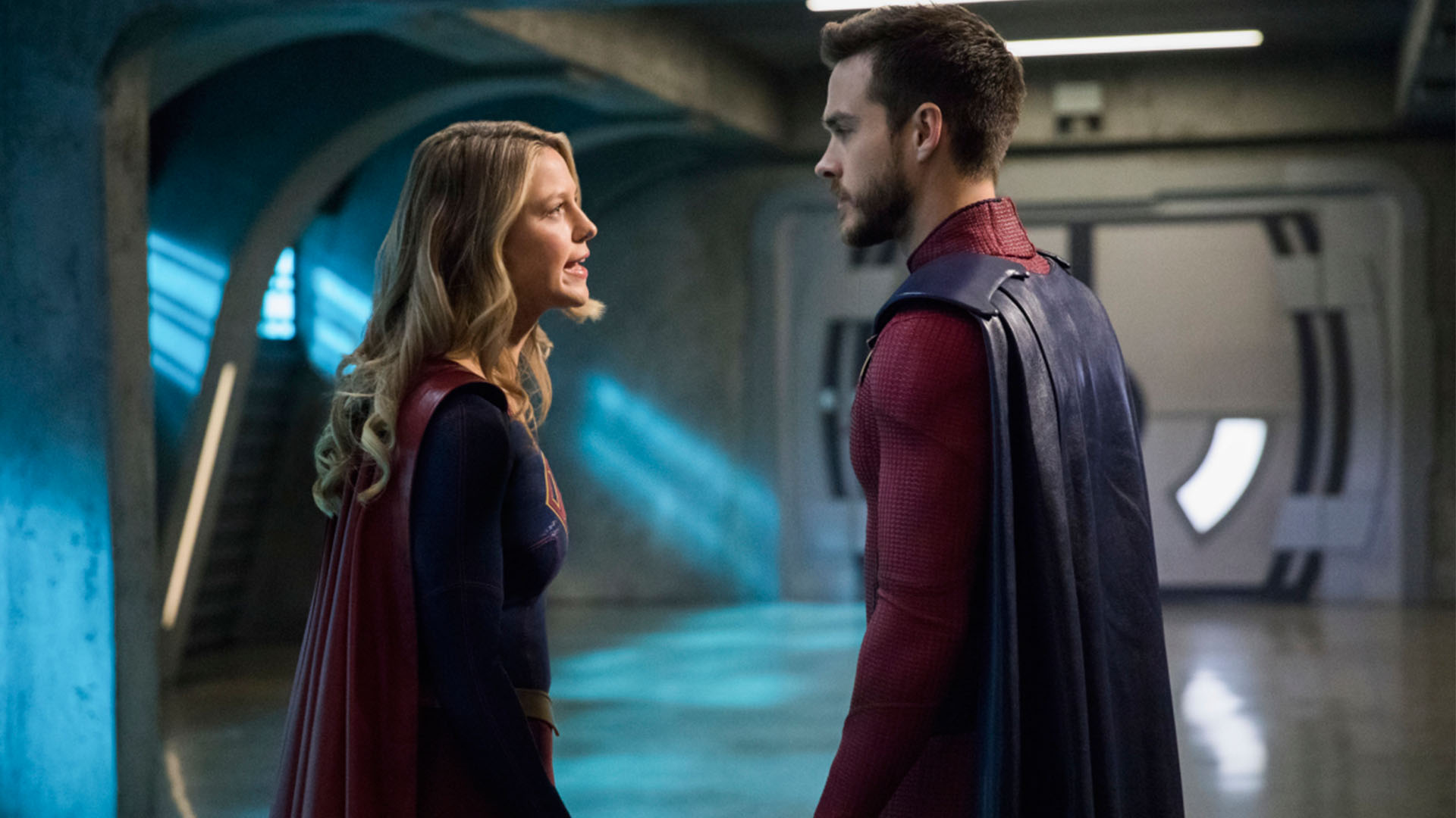supergirl season 3 episode 15 promo \u0026 preview mon el trains Supergirl CBS Season 3
