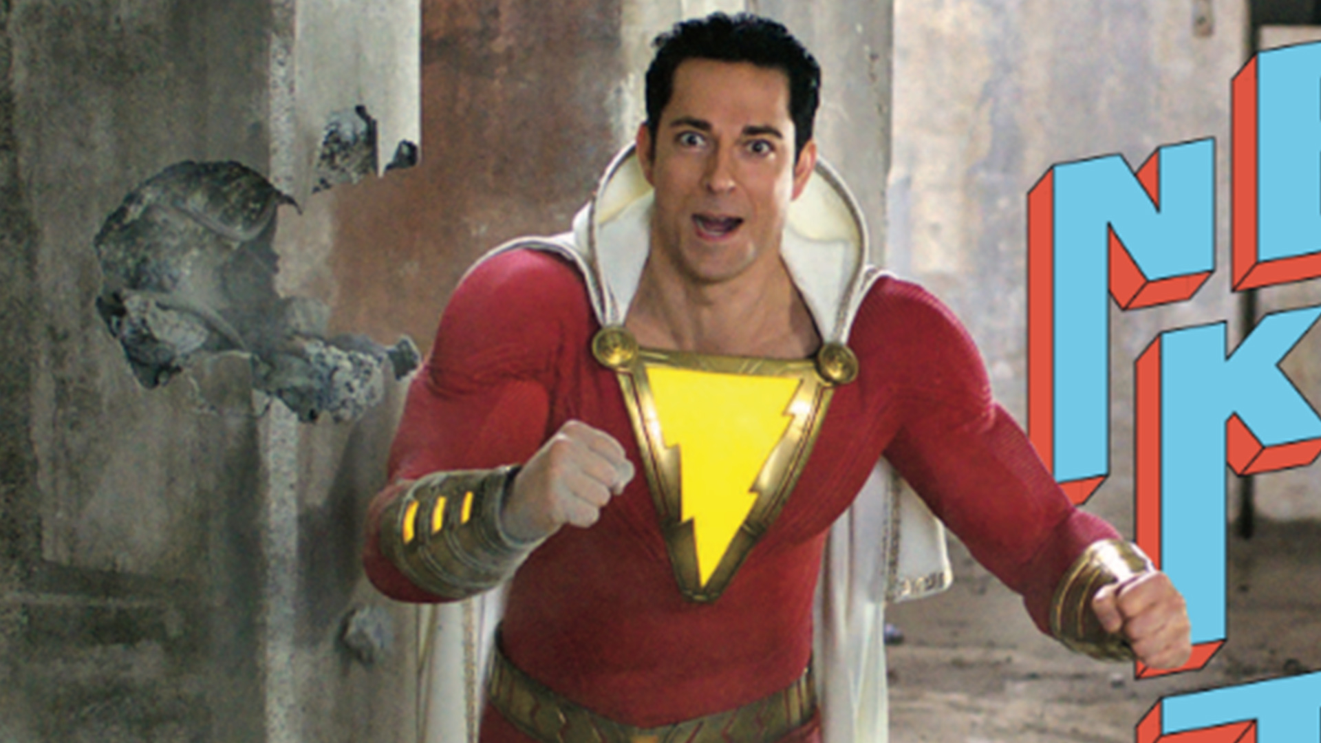 Shazam Is The New Kid On The Block In This Comic Con Photo From Ew