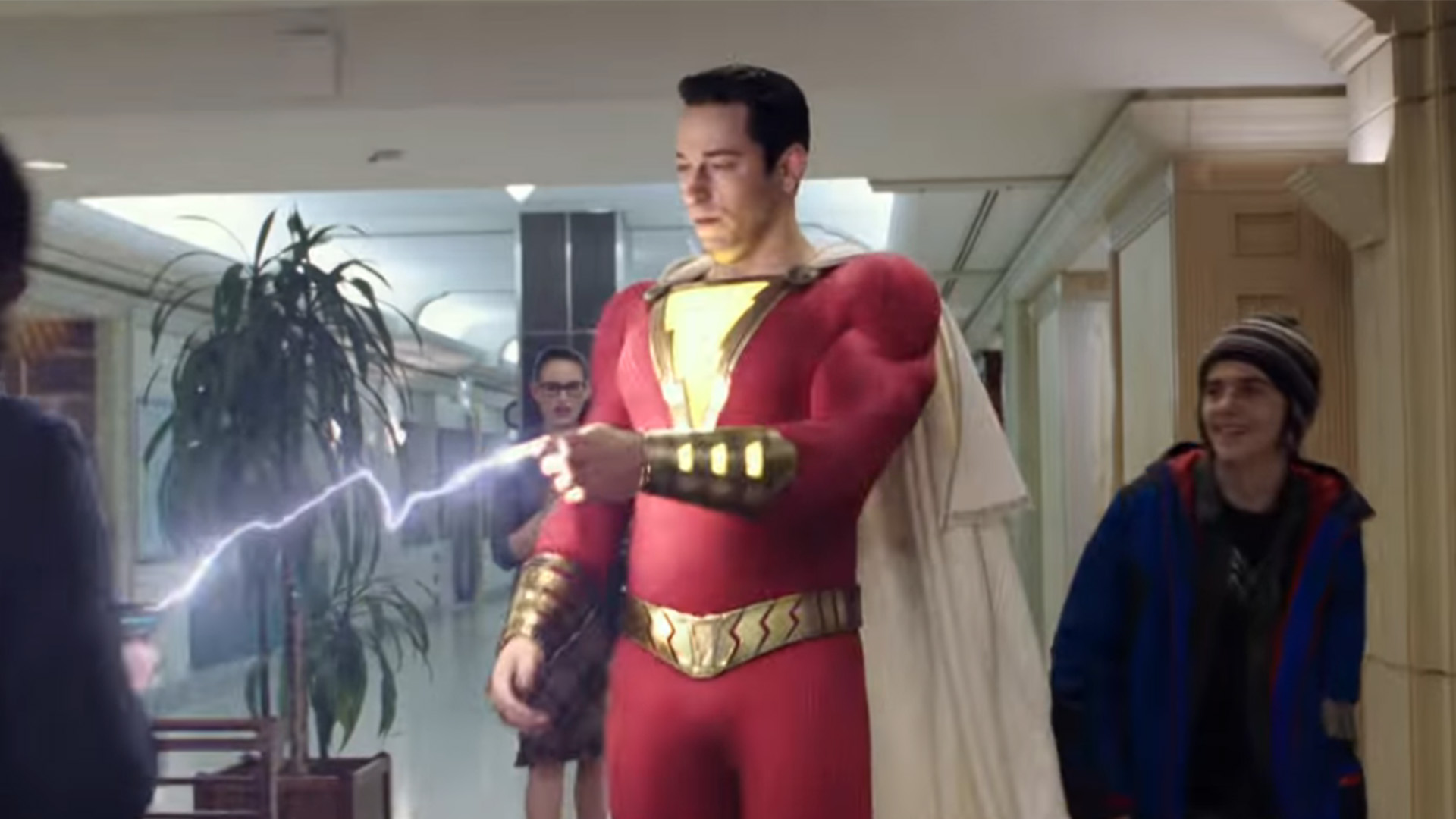 Shazam is out in theaters now