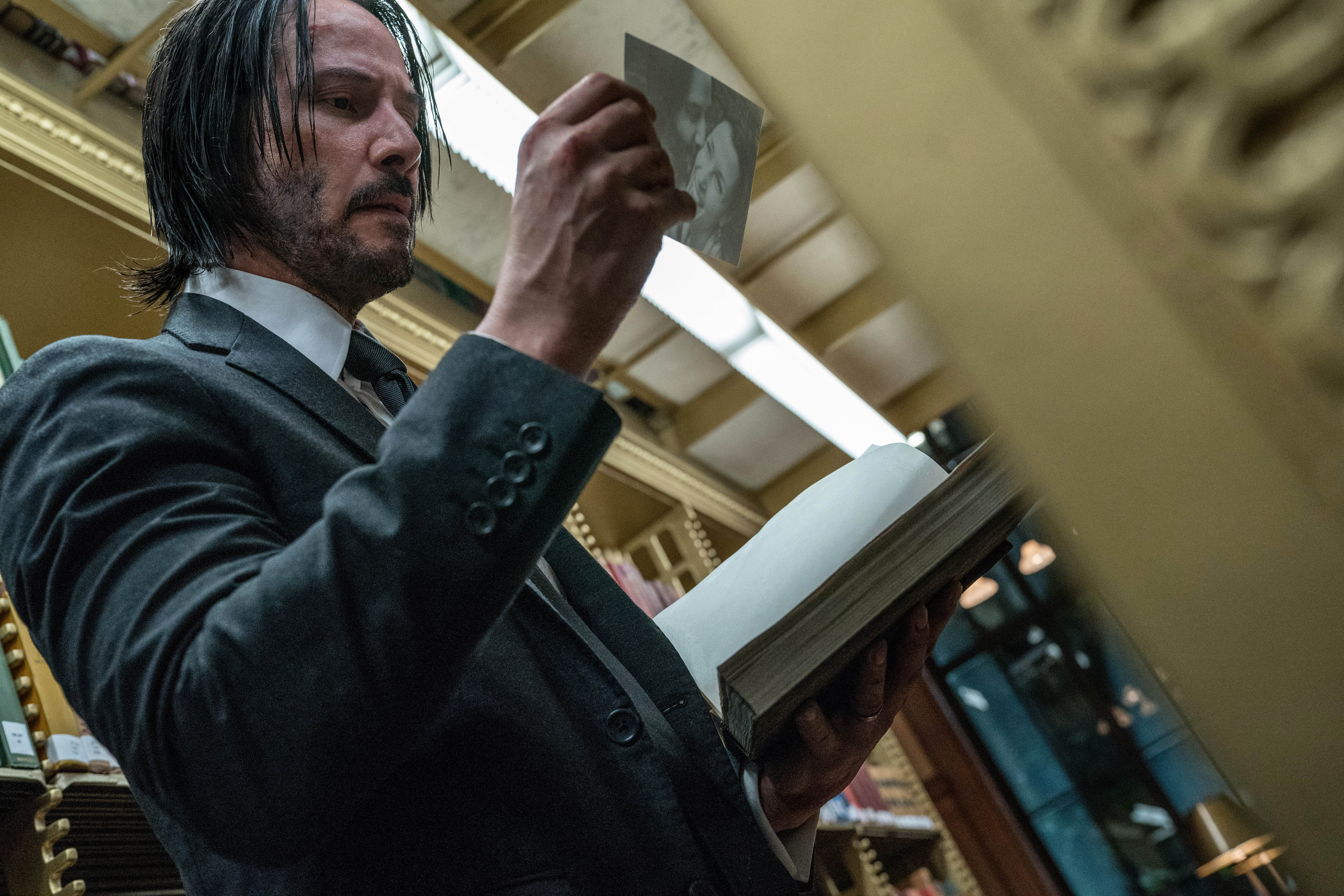 John Wick Chapter 3 New Teaser Images Of Keanu Reeves