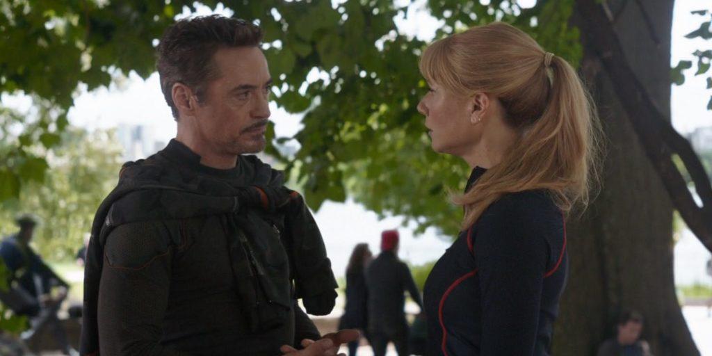 Pepper Potts, Avengers: Endgame, Avengers: Infinity War