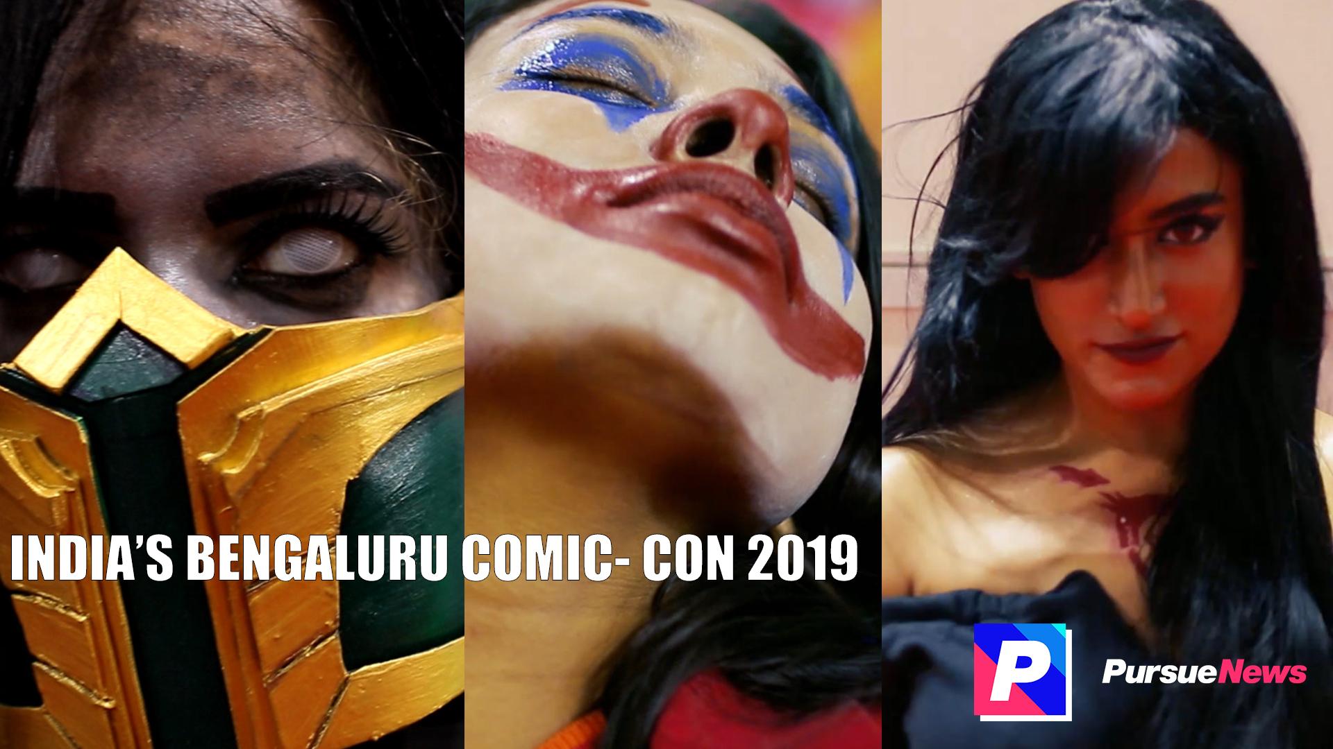 Bengaluru Comic-con 2019, Comic-con, India Comic-con